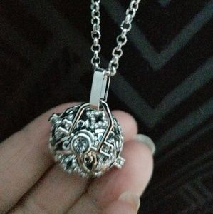 Jewelry - Locket Angel Caller Pendant Musical Sound Necklace